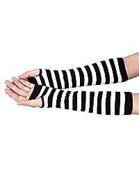 FEITONG 2016 New Winter Warmer Fingerless Long Arm Hand Gloves