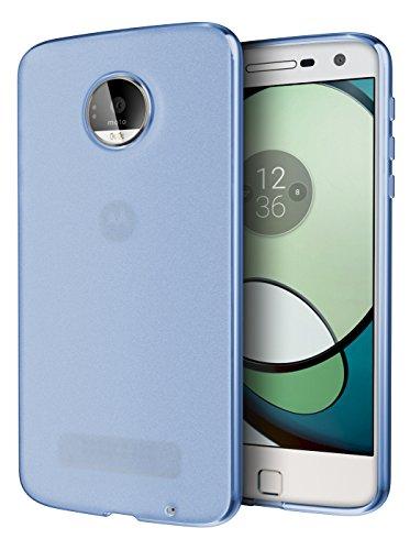 Moto Z Play Case, Cimo [Matte] Premium Slim Protective Cover for Motorola Moto Z Play Droid (2016) - Blue