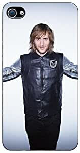 Custom David Guetta v2 Apple iPhone 4S - 4 Case 3102mss