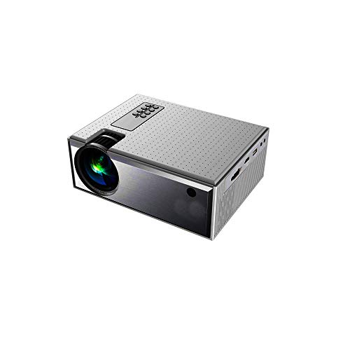 YABER Portable Projector with Zoom Function and Keystone, Home and Outdoor LED LCD Full HD Video Projecto,Compatible with Smartphone VGA,HDMI,USB,Smartphone,PC,Fire Stick