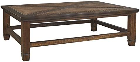 Signature Design by Ashley – Royard Casual Coffee Table, Brown