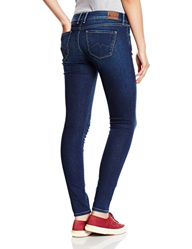 Pepe Jeans Soho, Jeans para Mujer Azul (Denim)
