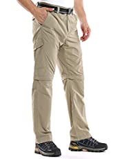 Jessie Kidden Mens Hiking Pants Convertible Quick Dry Lightweight Zip Off Outdoor Fishing Travel Safari Pants