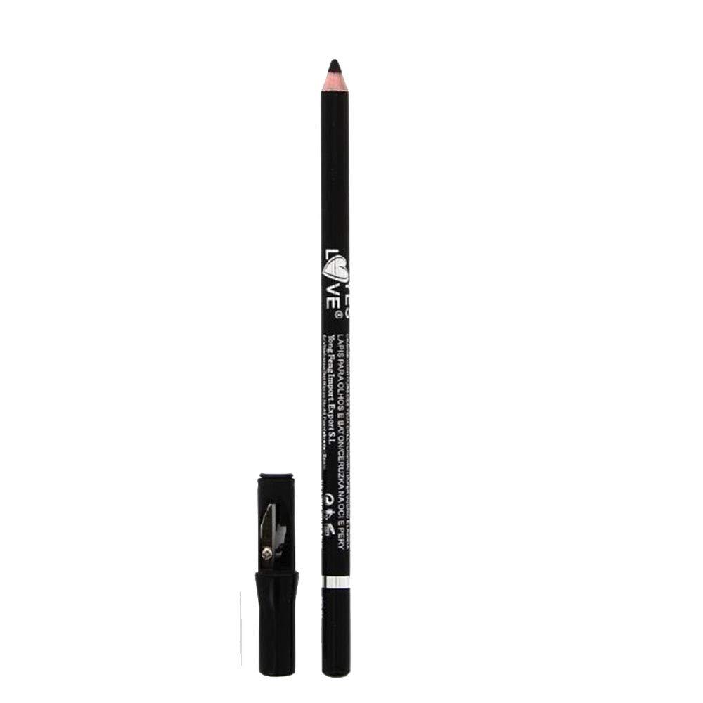 Crayon yeux & lèvres - n°1 - Noir Mat Intense - Yes Love