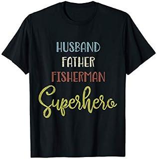 Cool gift Mens Father Husband Father Fisherman  Fishing Dad Shi Women Long Sleeve Funny Shirt / Navy / S - 5XL