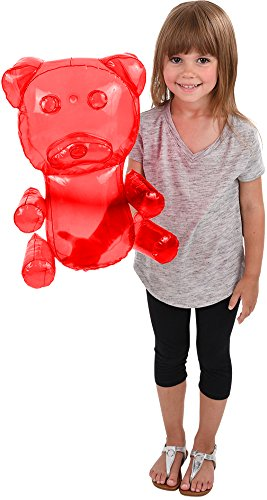 Block Buster Costumes Delicious Candy Large Red Gummy Bear Animal Inflatable 18