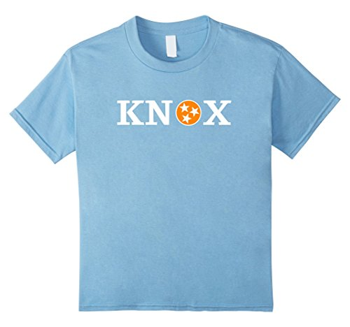 Kids Knoxville Tennessee Flag Shirt Orange and White TN State Tee 4 Baby - Clothing Knoxville Men's