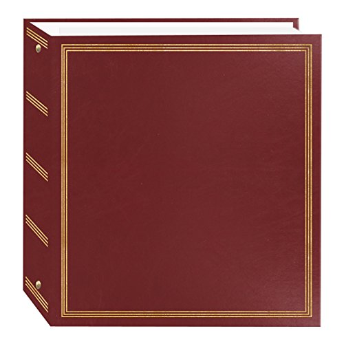 Album Photo Magnetic Refills (Pioneer Photo Albums TR-100/BR Magnetic 3-Ring 100 Page Photo Album, Burgundy Red)