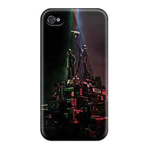 Excellent Hard Phone Cover For Iphone 6plus With Custom High Resolution Daft Punk Pattern JasonPelletier