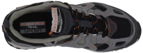 Skechers Sport Menns Edderkopp Sneaker Kull / Orange