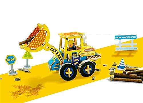 Sevenpring Rompecabezas de Aprendizaje Infantil Rompecabezas de Madera Interesante 3D Juguete de Aprendizaje temprano Regalos...