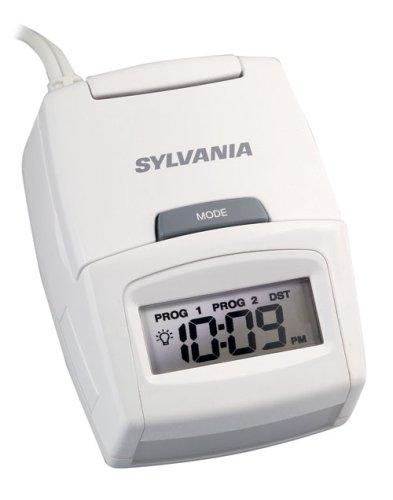 Sylvania SA135 10 Amp Table-Top Timer with Motion Sensor and Alarm