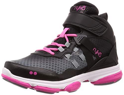 Ryka Women's DEVO XT MID Cross Trainer, Black, 10 M - Mid Cross Shoe Training