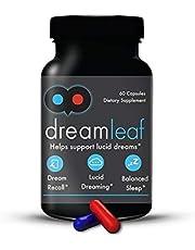 Dream Leaf Pro - Premium Lucid Dreaming Supplement - 60 Capsules
