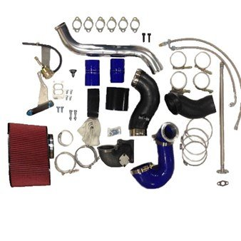 Diesel Power Source S300/s400 Twin Turbo Piping Kit for 2003-2007 Dodge Cummins