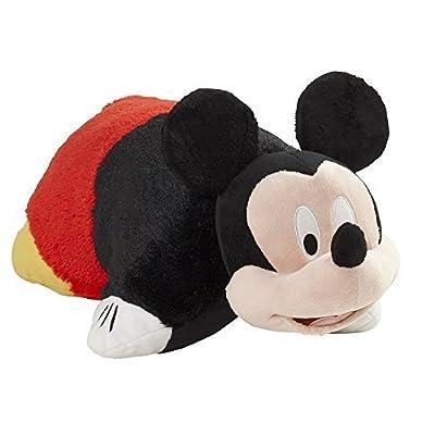 "Pillow Pets Disney, Mickey Mouse, 16"" Stuffed Animal Plush: Home & Kitchen"