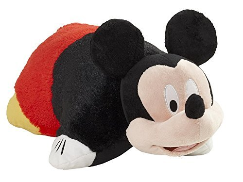 Pillow Pets Disney, Mickey Mouse, 16'' Stuffed Animal Plush by Pillow Pets
