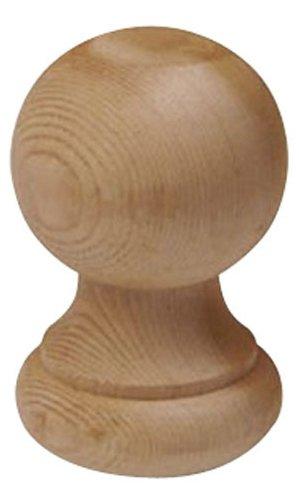 Woodway Finial Post Cap Decorative Cedar Wood Ball for Fe...