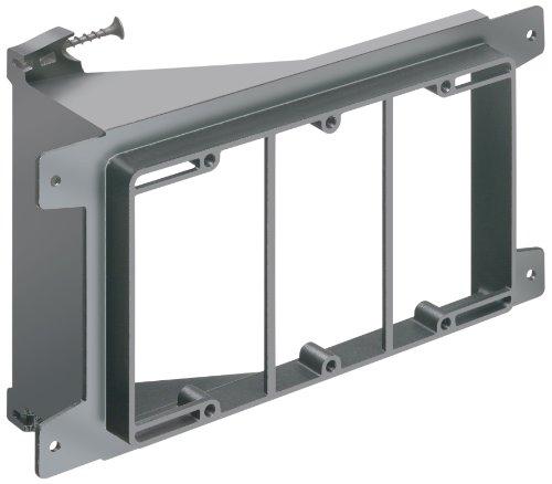 arlington-lvs3-1-low-voltage-screw-on-mounting-bracket-3-gang