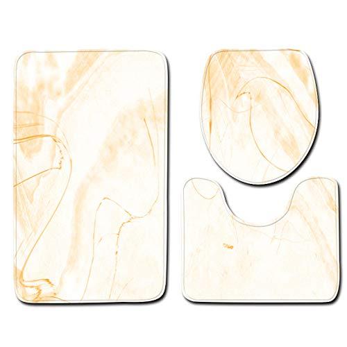 - Wffo 3pcs Non-Slip Bath Mat Bathroom Kitchen Carpet Doormats Decor Rugs (J)