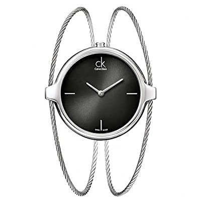 Calvin Klein Agile Collection Black Dial Women's Watch - K2Z2M111