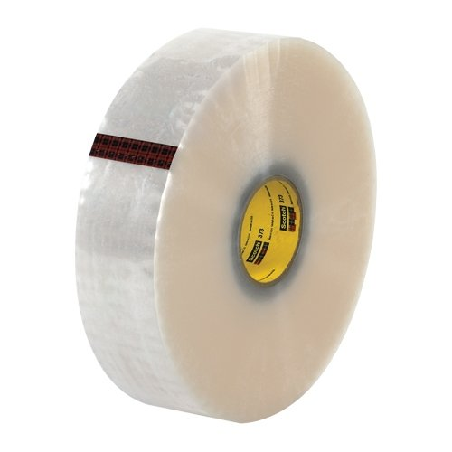 Scotch T9033373 Clear #373 Carton Sealing Tape, 3
