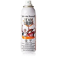 Jerome Russell Team Colors Water Resistant Temporary Color Spray Enemy Orange