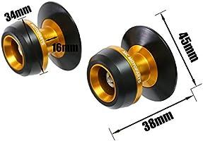 /2017 TWall 8/mm CNC basculante carretes para BMW S1000R Juego de 2014/