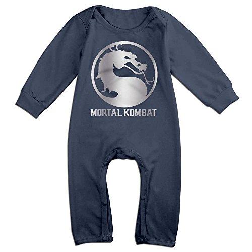 Mortal Kombat Suits (Baby Boys' Mortal Kombat Platinum Style Romper Jumpsuit Outfits)