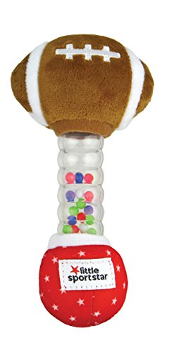Little Sport Star Rainstick Rattle Football (Football Rattle)