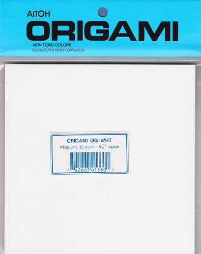 Origami Paper- 50 Sheets of White Paper ()