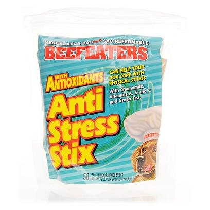 UPC 011985077130, Pet Rapport Inc Beefeaters Anti Stress Stix 50 Sticks Treats & Chews