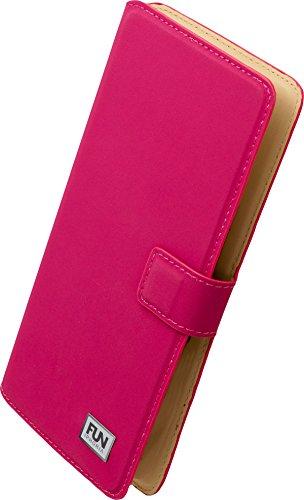 Iphoria Fun Trend Book Case Uni XXL5.2 für Samsung G900 Galaxy S5/Sony Xperia Z2 magenta