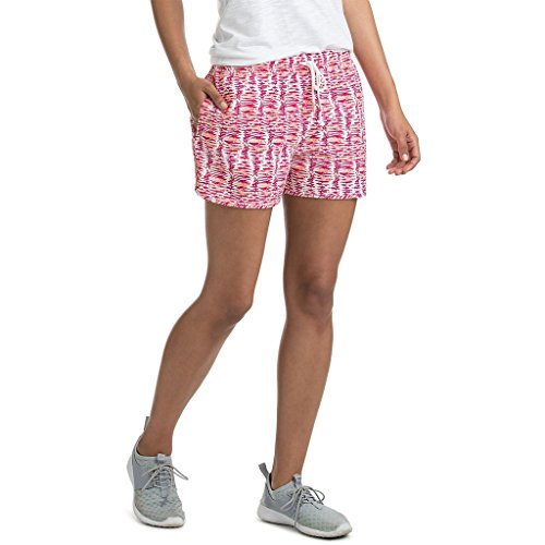 (Vineyard Vines Rhododendron Performance Watercolor Lines Pull On Shorts Small S)
