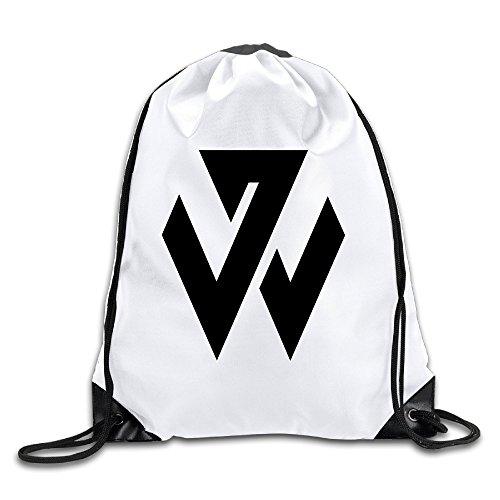 BYDHX John Wall Logo Drawstring Backpack Bag