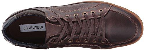 Steve Madden Heren Palis Fashion Sneaker Donkerbruin