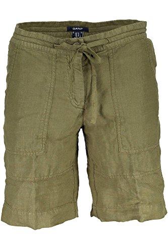 344 Verde Gant Donna Colore Shorts wqtIUZgtc
