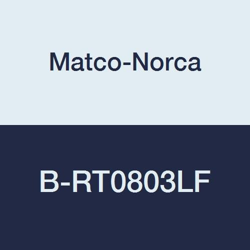 2 x 1//2 Brown 2 x 1//2 Matco-Norca B-RT0803LF Lead Free Brass Reducing Tee