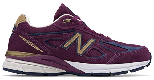 New Balance Women's W990v4 Running Shoes (9 M US, Purple) ()