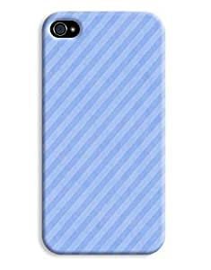 Blue Pinstripes Case for your iPhone 4/4s
