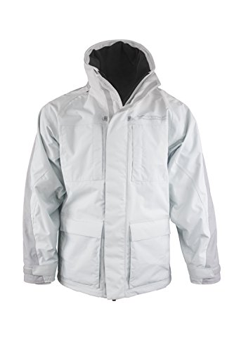 WindRider Pro Rain Jacket - Foul Weather Gear for Men - for Sailing and Fishing - White ()