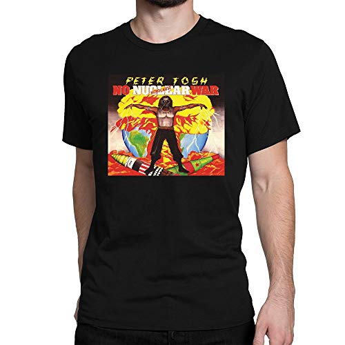 (GOOD COME FROM Men's Peter Tosh No Nuclear War Short Sleeve T Shirt)