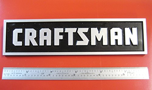 [Sears Craftsman Tool Box Badge Large: Chest / Cabinet Emblem Decal Sticker Logo NK] (Craftsman Black Belt)