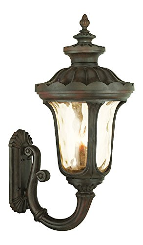 Imperial Bronze Oxford 4 Light Outdoor Lantern Wall Sconce