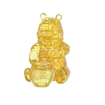 Bepuzzled Original 3D Crystal Puzzle - Winnie The Pooh - Fun yet challenging Disney brain teaser that will test your skills and imagination, For Ages 12+: Toys & Games