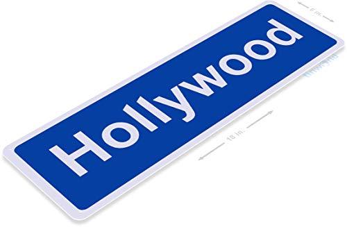 (Tinworld TIN Sign B881 Hollywood BLVD Street Metal Sign Los Angeles La California 6