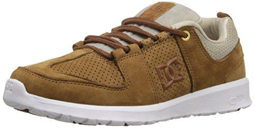 DC Lynx Lite LE Unisex Skate Shoe, Dark Brown, 9 M US