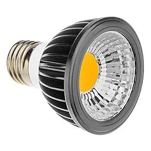 E27 5W High Power COB LED Warm White Light Spot Bulb (85-265V)
