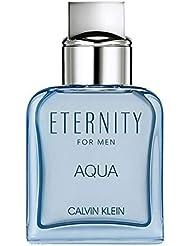 Calvin Klein ETERNITY for Men AQUA Eau de Toilette, 1 Fl Oz