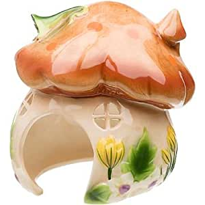 Petco ceramic mushroom house small animal for Does petco sell fish